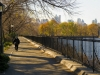Running path along the Jacqueline Kennedy Onassis Reservoir