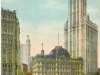 Early 20th century postcard of the Woolworth Building