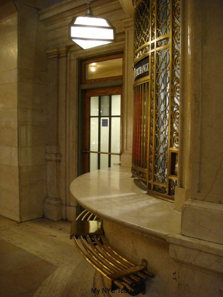 Ticket booth in Main Concourse, Grand Central Terminal