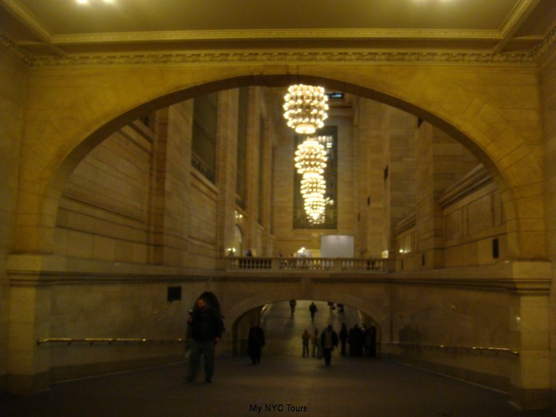 GCT Ramps to trains and subway.