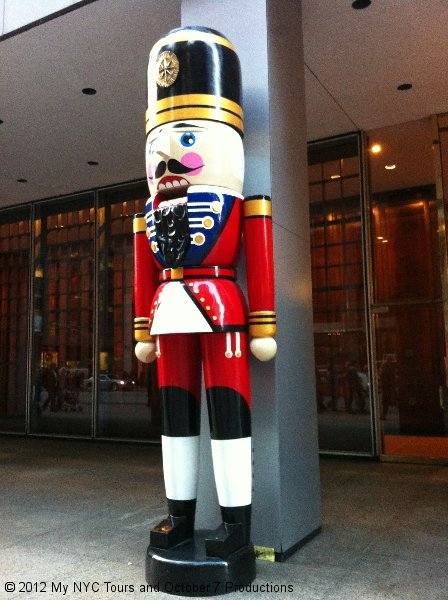 Nutcracker on Sixth Ave.