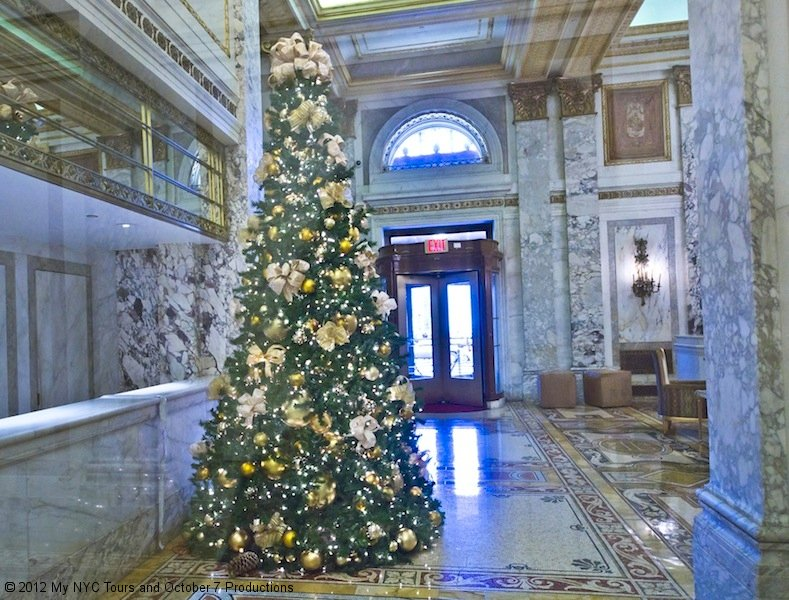 Christmas Tree at the Plaza