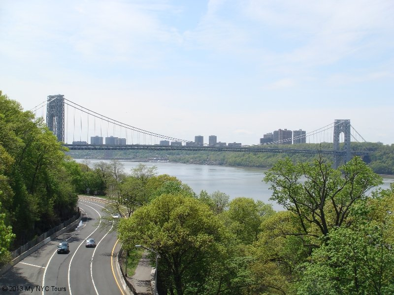 GWB and Fort Tryon Park