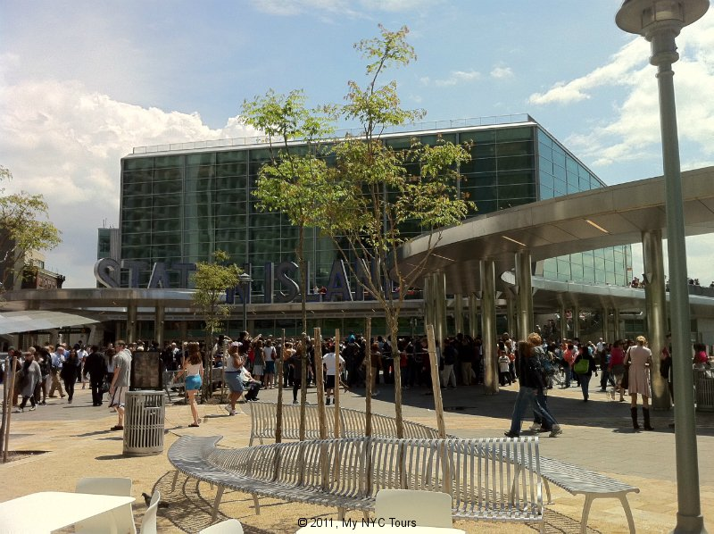 Peter Minuit Plaza and the Staten Island Ferry Terminal