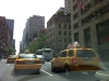 Taxis on Fifth Avenue