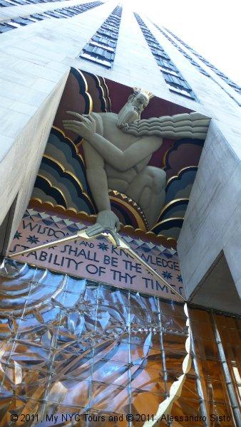 Wisdom, Rockefeller Center