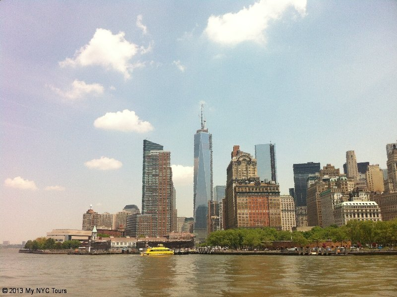 Lower Manhattan and Battery Park