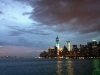 Summer storm over Manhattan