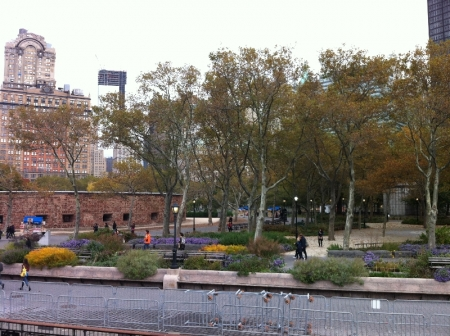 Battery Park and Castle Clinton