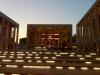 Lincoln Center steps at dusk