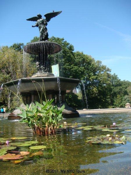 La fontana Bethesda a Central Park
