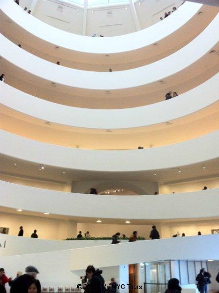 La rotonda del museo Guggenheim