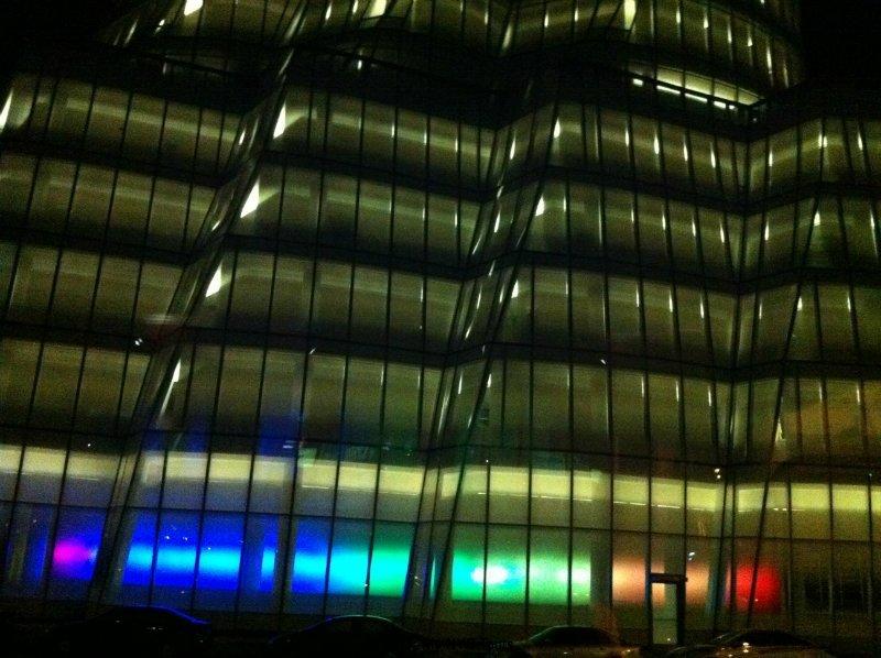 Il palazzo IAC di Frank Gehry nella zona di Chelsea