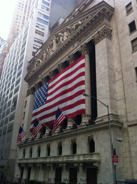 The New York Stock Exchange (la Borsa di New York)
