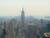 Empire State Building dal Top of the Rock