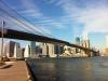 Vista dal Brooklyn Bridge Park