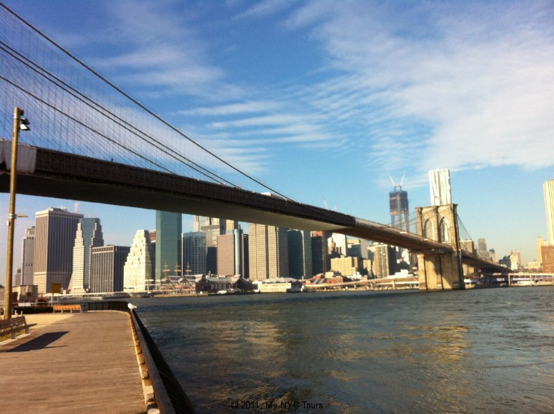 Vista dal Brooklyn Bridge Park