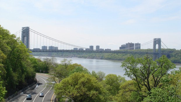 The George Washington Bridge from Fort Tryon Park